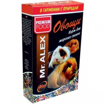 "Mr. Alex / Мр. Алекс Вasic корм для морских свинок ""Минерал"" 500 гр"