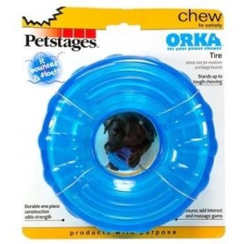 """Petstages / Петстейджес игрушка для собак """"ОРКА кольцо"""" 16 см большая"""
