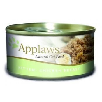 Applaws / Эпплаус Консервы для котят с Курицей 0,07 кг