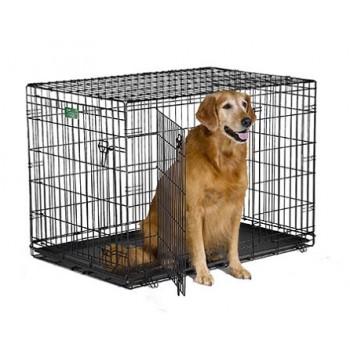 Midwest / Мидвест клетка iCrate 106х71х76h см 2 двери черная