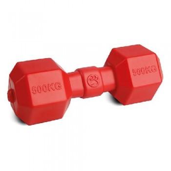 """Игрушка """"Грызлик Ам"""" Гантелька Аmfibios Размер 19,5 см, Цвет Красный, Материал ТPR, без звука, плавает"""