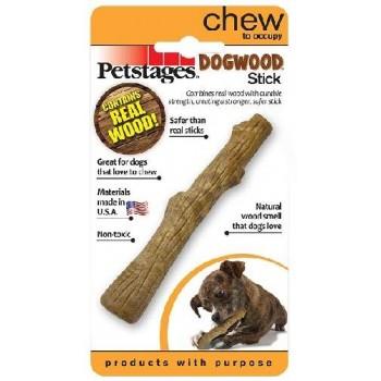 Petstages / Петстейджес игрушка для собак Dogwood палочка деревянная 13 см очень маленькая