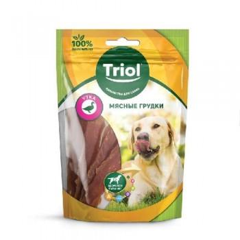 Triol / Триол Мясные грудки из утки для собак, 70г