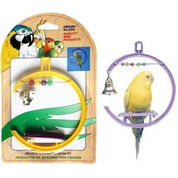 Penn-Plax / Пен-Плакс Игрушка для птиц Качели со счетами, колокольчик (1х12) ВА506