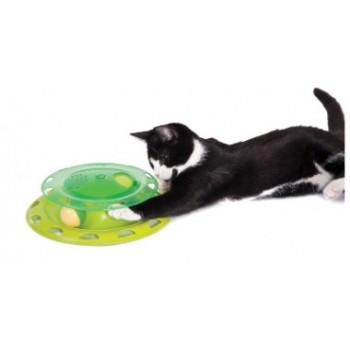 Petstages / Петстейджес игрушка для кошек Трек с контейнером для кошачьей мяты