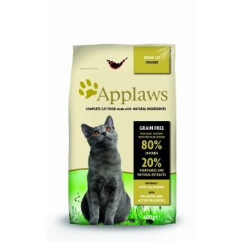 """Applaws / Эпплаус для Пожилых кошек """"Курица/Овощи: 80/20%"""" 0,4 кг"""