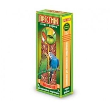 """Престиж """"Жесткие Палочки"""" лакомство для волнистых попугаев с овощами и фруктами, 150 гр"""