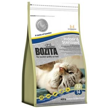 Bozita / Бозита Funktion Indoor&Sterilised сух.корм д/Домашних и стерилизованных кошек 400гр