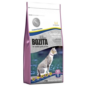 Bozita / Бозита Funktion Sensitive Hair&Skin сух.корм д/кошек чувствительной кожей и шерстью 2кг