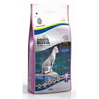 Bozita / Бозита Funktion Sensitive Hair&Skin сух.корм д/кошек чувствительной кожей и шерстью 10кг