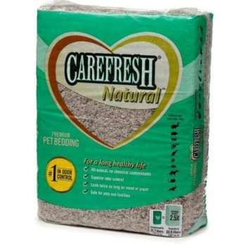 CareFresh NATURAL- Наполнитель-подстилка натуральный, бумажный для птиц и мелких животных (Natural) (14 л)