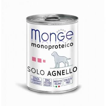 Monge / Монж Dog Monoproteico Solo консервы для собак паштет из ягненка 400г