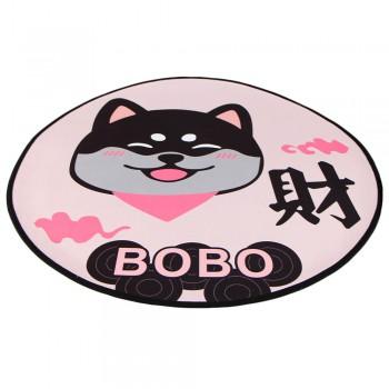 Bobo / Бобо Коврик для собак и кошек 80 см, собака, розовый