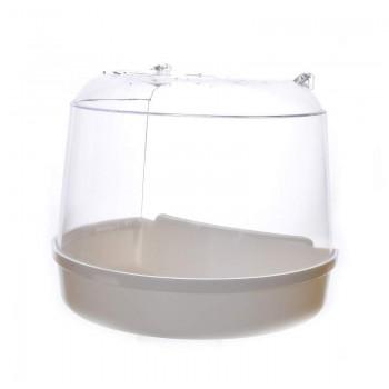 Benelux / Бенелюкс Ванночка для птиц для круглой клетки 15*11*12.5 см 14402