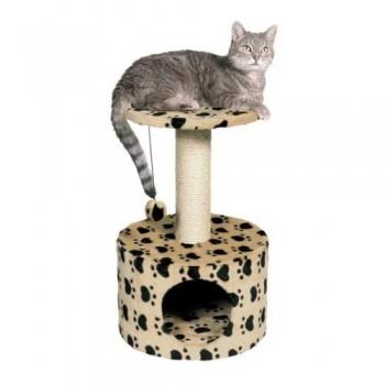 """Trixie / Трикси Домик д/кошек """"Toledo"""" кошачьи лапки, бежевый высота 61см 43704"""