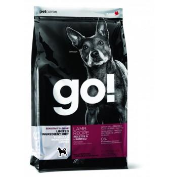 Go! / Гоу! корм беззерновой д/щенков и собак с Ягненком для чувствительного пищеварения 2,72 кг