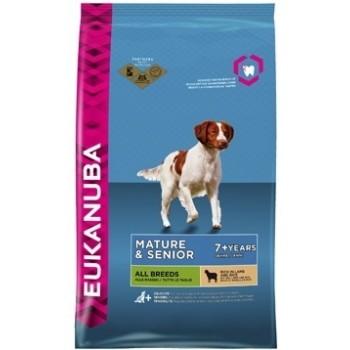 EUKANUBA / Еукануба Dog корм для пожилых собак всех пород ягненок 12 кг