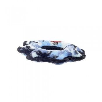 Tuffy / Таффи Супер прочная игрушка для собак Шестеренка малая, голубой камуфляж, прочность 8/10
