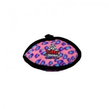 Tuffy / Таффи Супер прочная игрушка для собак Торпеда малая, розовый леопард, прочность 7/10