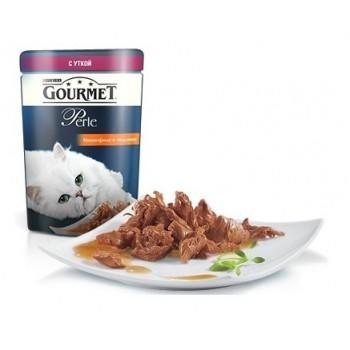 Gourmet Perle / Гоурмет Перле для кошек Мини-Филе Утка (пауч) 85 гр