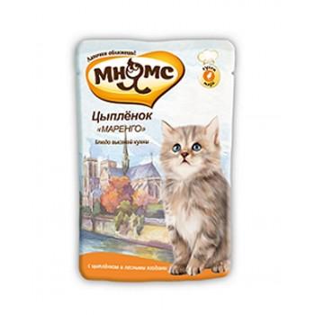 "Мнямс паучи для котят Цыпленок ""Маренго"" 85 г"