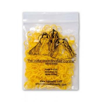 Lainee / Лайни резинки латекс L желтые уп.