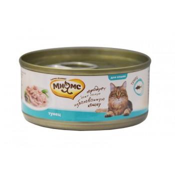 Мнямс консервы для кошек Тунец в нежном желе 70 г