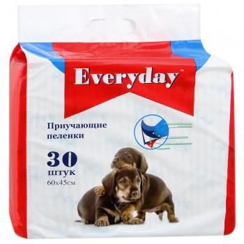 Everyday впитывающие пеленки для животных гелевые 30шт 60х60см