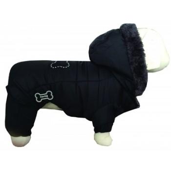 """Ferribiella / Феррибиэлла Теплая куртка """"Полярник"""" (черный) на длину 30 см"""