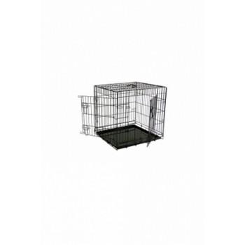 Papillon / Папиллон Клетка металлическая с 2 дверками, 61*54*58 см, черная