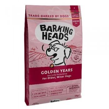 """Barking Heads / Баркинг Хедс Для Собак старше 7 лет с курицей и рисом """"Золотые годы"""", 12 кг"""