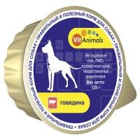 VitAnimals / ВитЭнималс консервы д/собак Говядина 125гр