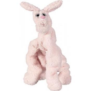 JW Игрушка д/собак - Кролик с длинными лапами, большая, мягкая Rascal Rabbit Squeaking Large (47313)