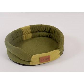 Katsu / Катсу ANIMAL 65х54 см лежак для животных хаки-салатовый