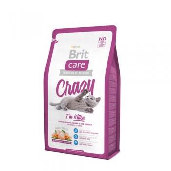Brit / Брит Care Cat Crazy Kitten для котят, беременных и кормящих кошек, 2 кг