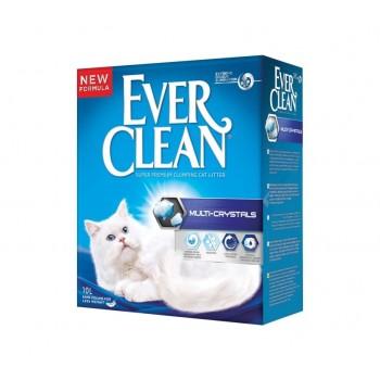 Ever Clean Multi Crystals Наполнитель д/кошек с добавлением кристаллов 6кг