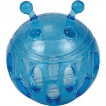 """Игрушка """"Грызлик Ам"""" Мячик Bottle Sound Размер 9,3 см, Цвет Голубой, Материал TPR, с бутылочным звуком"""