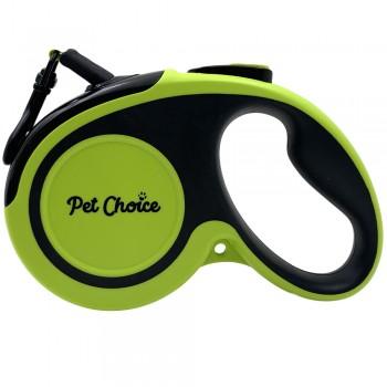 Pet Choice Поводок-рулетка со светоотражающей лентой 5 м до 20 кг