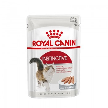 Royal Canin / Роял Канин Instinctive Mouse для кошек старше 1-го года паштет, 85 гр