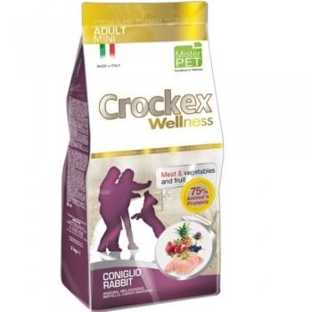 CROCKEX / КРОКЕКС Wellness сухой корм для собак мелких пород 2 кг кролик с рисом MCF2902