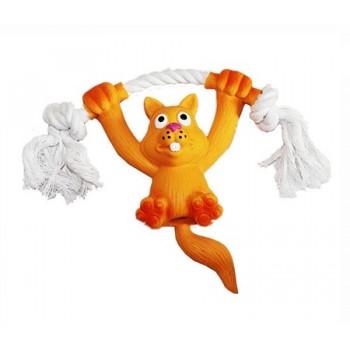 "Ziver / Зивер Игрушка ""Белка на канате оранжевая"", 14 см"
