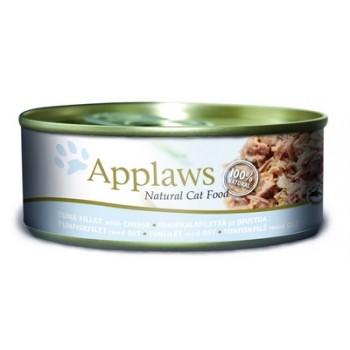 Applaws / Эпплаус Консервы для кошек с филе Тунца и сыром 0,156 кг