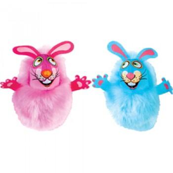"""Fat Cat Игрушка д/кошек - """"Пушистый кролик"""", мягкая,, Fluff Bunnies Cat Toy (650554)"""