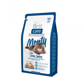 Brit / Брит Care Cat Monty Indoor для кошек, живущих в квартире, 2 кг