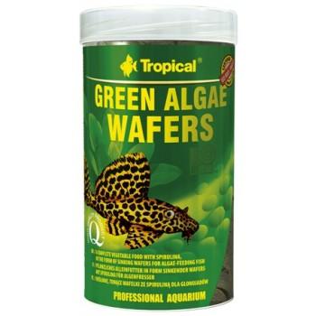 Tropical / Тропикал 664247/85923 корм для травоядных рыб растительный (чипсы) Green Algae Wafers 250мл/113гр