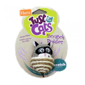 Hartz / Хартц Игрушка д/кошек - Забавные животные - когтеточки, JFC Scratch Buddies cat toy