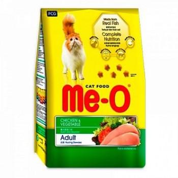 Ме-О Adult сух.д/кошек Курица с овощами 1,2кг 1619