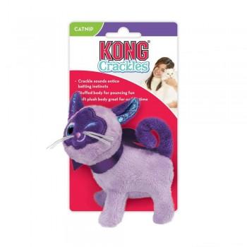 Kong / Конг игрушка для кошек Crackles Кошка, хрустит, с кошачьей мятой
