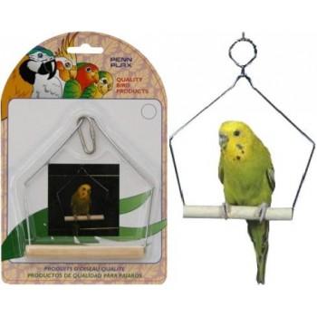 Penn-Plax / Пен-Плакс Игрушка для птиц Качели 12,5х11,5см (1х12) ВА205