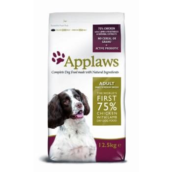 """Applaws / Эпплаус для Собак малых и средних пород """"Ягненок/Овощи: 75/25%"""" 15 кг"""